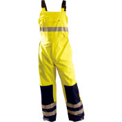 Premium Breathable Bib Pants, Hi-Vis Yellow, L