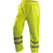 OccuNomix Premium Breathable Pants, Class E, Hi-Vis Yellow, XL, LUX-TENBR-YXL