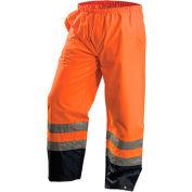 OccuNomix Premium Breathable Pants, Class E, Waterproof, Hi-Vis Orange, XL, LUX-TENR-OXL