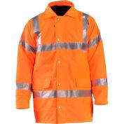 OccuNomix Premium 5-In-1 Parka, Class 3, Hi-Vis Orange, XL, LUX-TJFS-OXL