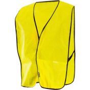 Value Mesh Vest, Hi-Vis Yellow, Regular
