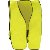 Value Solid Vest, Hi-Vis Yellow, Regular