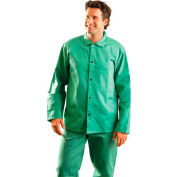 MIG Wear Welding Jacket, Green, 4XL