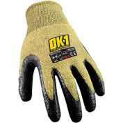 Occunomix OK-140-015 Cut Protection Flame Resistant Gloves, ANSI Cut Level 4, XL