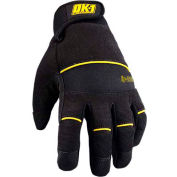 Occunomix OK-IG200-B-14 Winter Protection Glove, Black, L