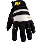 Occunomix OK-IG300-B-14 Waterproof Winter Protection Glove, Black/Reflective, L