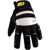Occunomix OK-IG300-B-16 Waterproof Winter Protection Glove, Black/Reflective, 2XL