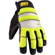 Occunomix OK-IG300-Y-16 Waterproof Winter Protection Glove, Hi-Vis Yellow, 2XL