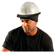 OccuNomix Premium Flame Resistant Hard Hat Tube Liner Black, RK900NFR-06