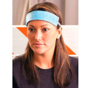 Original Soft Sweatbands, Blue, 25/Pack