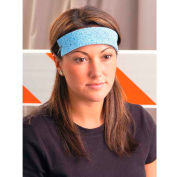 Traditional Absorbent Cellulose Sweatbands, 100/Pack