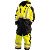 Speed Collection® Premium Cold Weather Coverall, Hi-Viz Yellow, 2XL