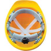 Vulcan Basic Hard Hat with Ratchet Suspension, Orange