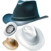 Vulcan Cowboy Hard Hat with Ratchet Suspension, Black