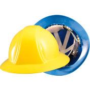 OccuNomix Vulcan Full Brim Hard Hat With Ratchet Suspension Blue, VF200-02