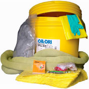 Oil-Dri® HazMat Spill Kit, 20 Gallon Capacity