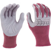 Mad Grip Plus Garden Pro Glove, Plum/Gray, L, LPPPPURRL