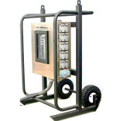 CEP 6210DC, 100 Amp, 3-Phase Power Distribution Cart