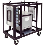 CEP 6220PDC45, 200 Amp, 3-Ph Cart w/ 45kva Transformer