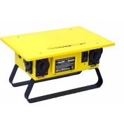 CEP 6506GU, 50A Temporary Power Box, U-Ground