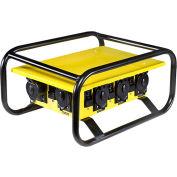 CEP 8706G, 50A Temp. Power Box, Twist Lock, Rugged