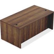 """Lorell® Wood Desk - 70.9"""" x 35.4"""" x 30"""" Desk - Walnut - Chateau Series"""