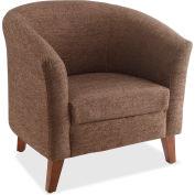 Lorell® Fabric Club Armchair - Brown
