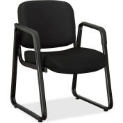 Lorell® Black Fabric Guest Chair - Black