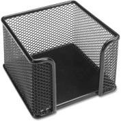 Lorell® Mesh Memo Holder, Black