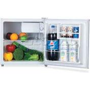 "Lorell LLR72310 - Refrigerator, 1.6 Cu. Ft. 18-1/2""W x 17-1/2""D x 19-1/4""H, White"