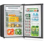 """Lorell LLR72313 - Refrigerator, 3.3 Cu. Ft. 18-1/2""""W x 17-1/2""""D x 32-3/4""""H, Black"""