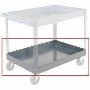 "Nexel-Tray 36 x 24 - 3"" Deep for Steel Shelf Carts & Trucks"