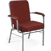 Big and Tall Arm Chair 500 Lbs. Capacity - Pinpoint Wine