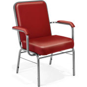 Big and Tall Arm Chair 500 Lbs. Capacity - Vinyl - Wine