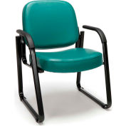 Guest Chair - 602 - Teal Am Vinyl