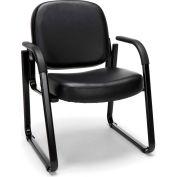 Guest Chair - 606 - Black Am Vinyl