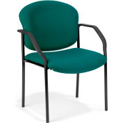 Deluxe Stacking Guest Chair - Teal