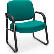 Big & Tall Guest/Reception Chair Teal