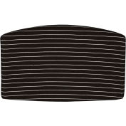 Back Cushion For Convertible Chair With Arms Or Armless - White Stripe - Pkg Qty 4