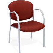 OFM Danbelle Series Contract Reception Chair, Fabric, Burgundy
