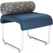 Uno Pillow Back Seat Blue Jay Pu Navy