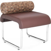 Uno Pillow Back Seat Copper Pu Brown