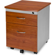 Mobile File Pedestal - Cherry