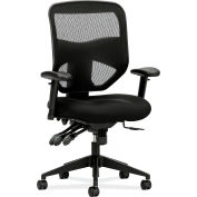 HON® Mesh Task Chair - High Back - Black - Prominent Series