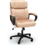 Essentials by OFM ESS-3082 Plush Microfiber Office Chair, Tan