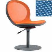 Net Swivel Chair With Gas Lift - Marine - Pkg Qty 2