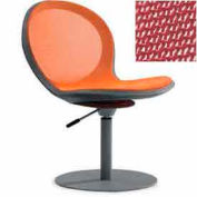 Net Swivel Chair With Gas Lift - Red - Pkg Qty 2