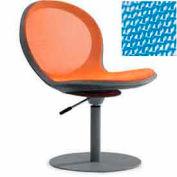 Net Swivel Chair With Gas Lift - Sky Blue - Pkg Qty 2