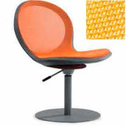 Net Swivel Chair With Gas Lift - Yellow - Pkg Qty 2