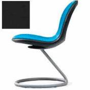 Net Circular Base Chair - Black - Pkg Qty 2